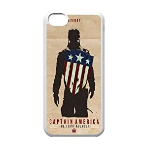 iphone5c phone cases White Captain America cell phone cases Beautiful gifts PYSY9380423