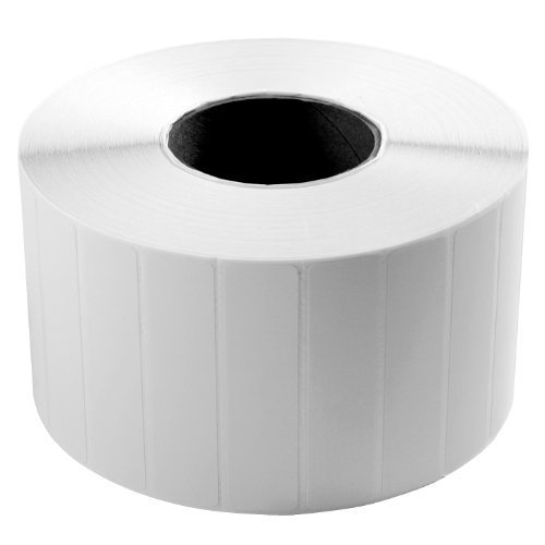 "Wasp 633808402587 Thermal Transfer Paper Label for Wpl305 Printer, 4"" Length x 6"" Width, 5"" OD (Pack of 4)"