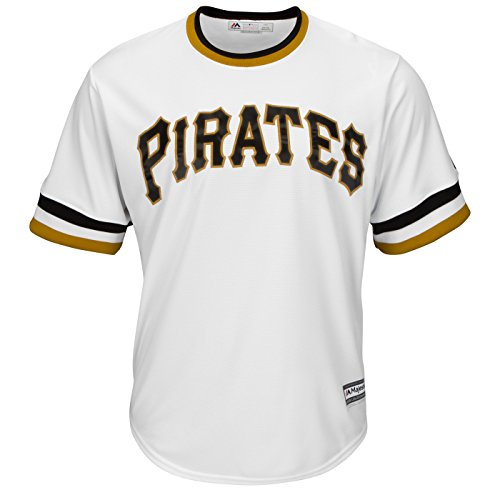 Majestic Pittsburgh Pirates Official Alternate Throwback Cool Base Jersey Men's (Small)