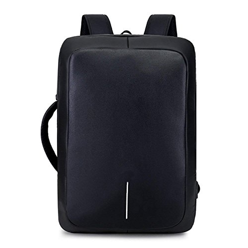 2018 new business travel laptop backpack USB charging waterproof large casual (Business Casual Saddlebag)