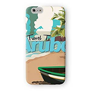 Aruba Full Wrap High Quality 3D Printed Case for Apple? iPhone 6 by Nick Greenaway + FREE Crystal Clear Screen Protector