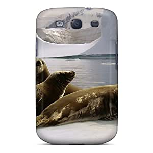 Quality ChriDD Case Cover With Three Seals Nice Appearance Compatible With Galaxy S3