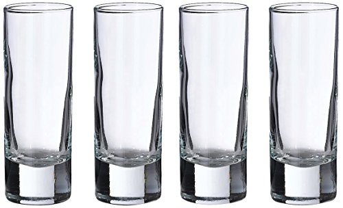 Lillian Rose Set of 4 Tall Shot Glasses by Lillian Rose