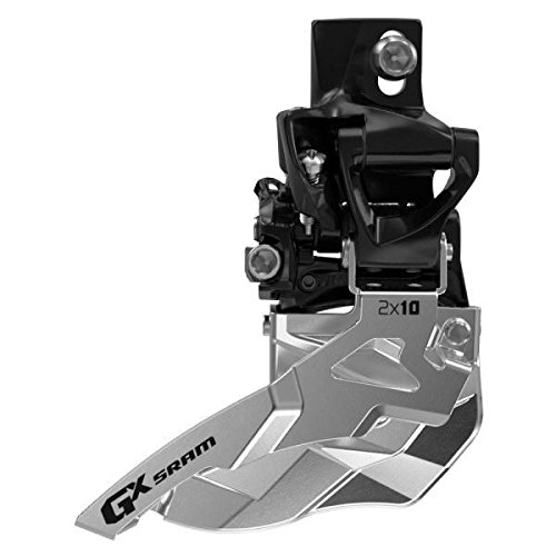 SRAM GX Bicycle Front Derailleur with 2 x 10 High Direct Mount 38/36 Top Pull