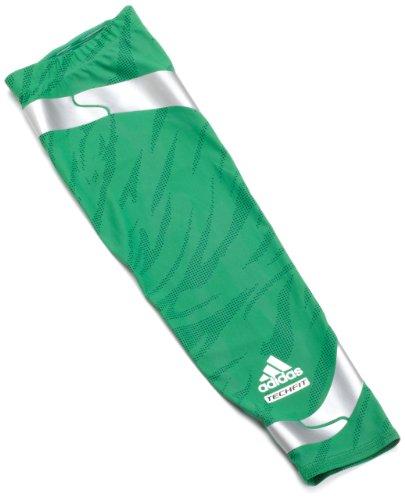adidas Men's Powerweb Elbow GFX Compression Sleeve, Kelly/ Ivy/ Light Onix, Large