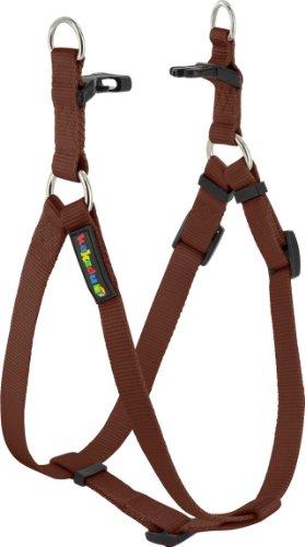 Kakadu Pet Empire Adjustable Nylon Step In Dog Harness, 1″ x 21-32″, Earth (Brown), My Pet Supplies