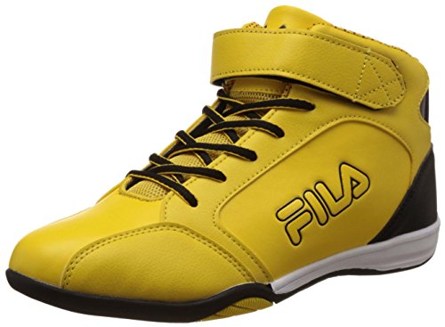 Fila Men's Lazzero Yellow and Black Sneakers -6 UK/India(40 EU)(7 US)