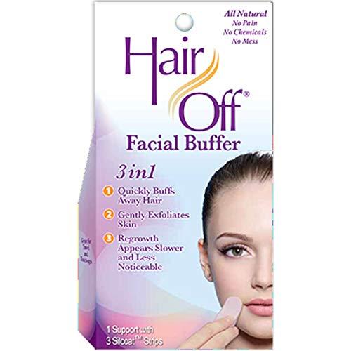 (HairOff Facial Buffer 3 Each (Pack of)
