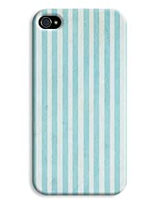 Retro Green Stripes Case for your iPhone 4/4s