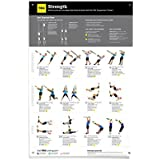 TRX Training - All Body Strength Poster, All the Visual Aid You Need in One Convenient Poster