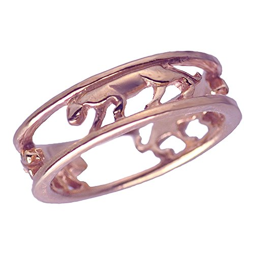 Diamond 18kt Gold Plated Ring - 6