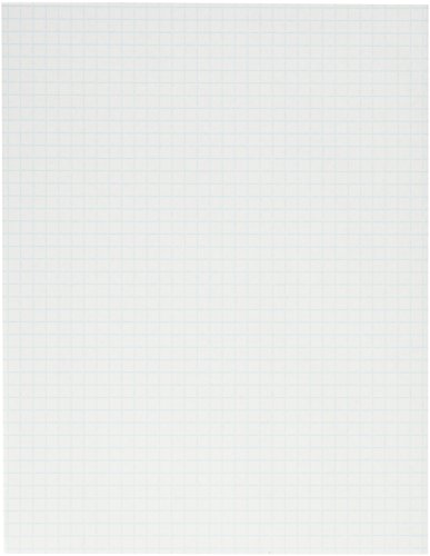 School Smart Graph Papers - 8-1/2 x 11 , 1/4 Rule, Two Sides