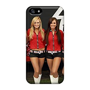 New Arrival Case Specially Design Case For HTC One M8 Cover (atlanta Falcon Cheerleaders Nfl)