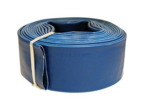 apache hose and belting inc 97026465 2 -Inch x 100 -Feet, Blue, PVC Discharge Hose