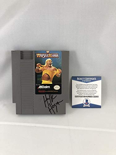 Hulk Hogan Signed Wrestle Mania ...