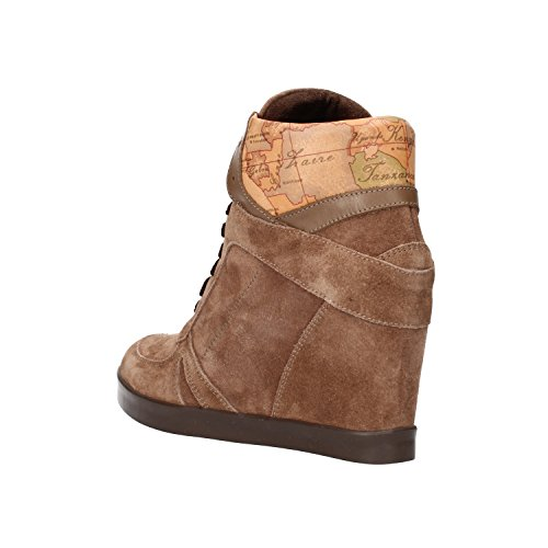 37 Uk Sneakers Suede Classe Leather Prima Af284 Eu Women's Beige Alviero Martini 1 Brown 4 H29WDIEeY