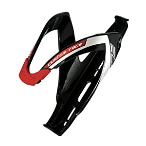 Elite 0061685 Custom Race Water Bottle Cage, Black/Red