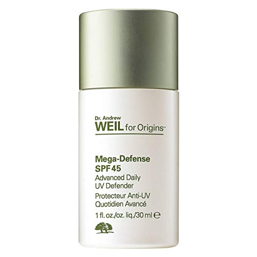 ORIGINS Dr. Andrew Weil for Origins? Mega-Defense Advanced daily UV defender SPF 45