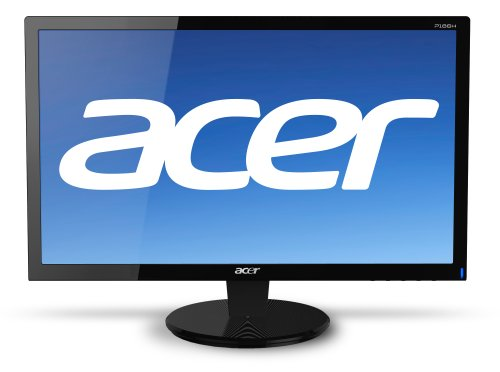 Acer P186H Widescreen Monitor Black