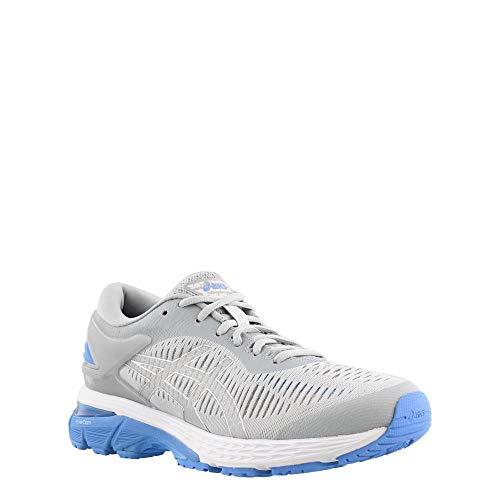 ASICS Gel-Kayano 25 Women's Shoe, Mid Grey/Blue Coast, 5 B US by ASICS (Image #1)