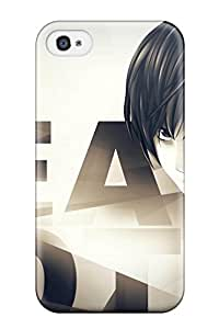 Discount death note anime Anime Pop Culture Hard Plastic iPhone 4/4s cases