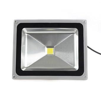 50W LED Spotlight Flood Light High Power Outdoor Wall Cool White By Loftek