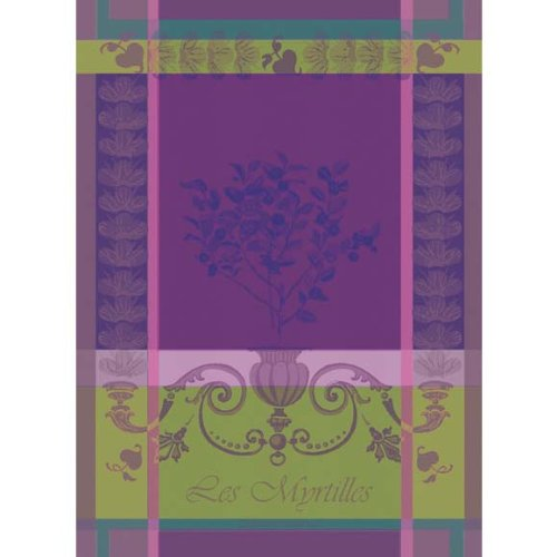 garnier-thiebaut-myrtilles-violet-blueberries-woven-french-kitchen-towel-100-two-ply-twisted-cotton-