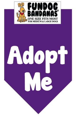 BANDANA Adopt Medium Large purple product image