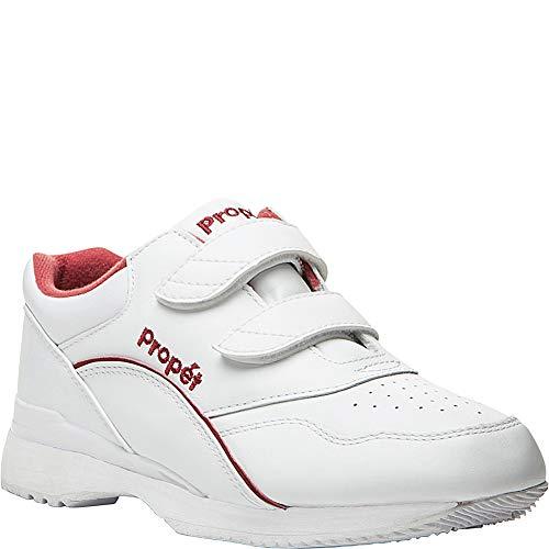 - Propet Women's Tour Walker Strap Sneakers, White Leather, 11 N