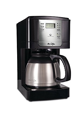 Mr. Coffee JWTX85 8-Cup Thermal Coffeemaker, Stainless Steel 8 Cup Programmable Thermal