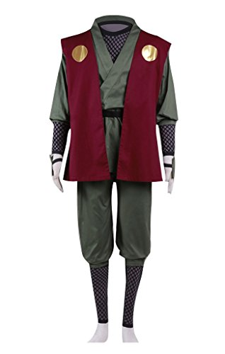 Cosplay Anime Costumes Naruto (Dazcos Anime Naruto Jiraiya Cosplay Costume (Men XXL))