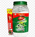 Dabur Glucose D - 1 kg and Dabur Red Paste - 100 g