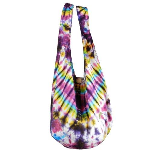 Sling Plusieurs Hippie Dye Fishbone bandoulière nbsp; choix couleurs Tie au Hobo Sac VA3 à coton Sac BTP wXqpIxPn