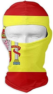 Wfispiy Bandera de España Magic Bandana inconsútil al aire libre Headwear bufanda uso múltiple: Amazon.es: Coche y moto