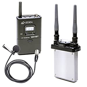 azden 1201sit uhf wireless microphone system 1201urx si with 1201bt and ex 503h. Black Bedroom Furniture Sets. Home Design Ideas