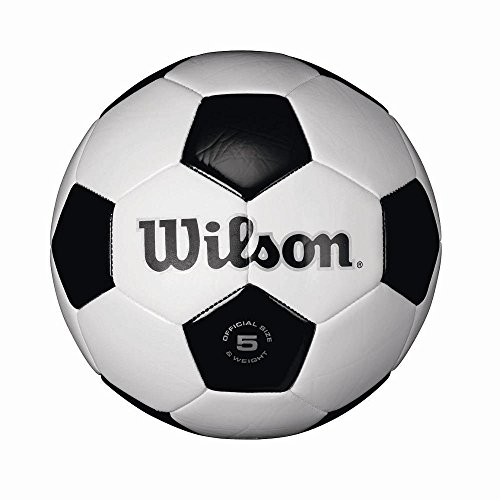 Wilson Traditional Soccer Ball IZyrQs, 4 Pack(Size 5)