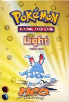 Pokemon Card Game - Neo 4 (Destiny) Theme Deck Light - 60C ()