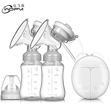 Electric Double Breast Pump UTOBY Nursing Breastfeeding Pump Pain-Free Strong Suction Power for Breast Milk Suction and Breast Massage