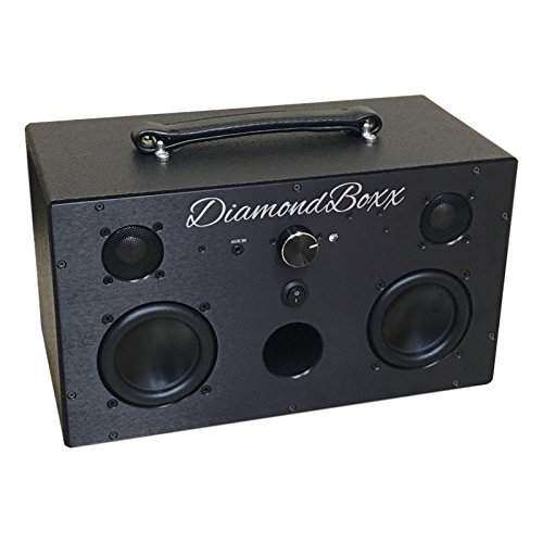 DiamondBoxx Wireless BlueTooth Speaker Aluminum