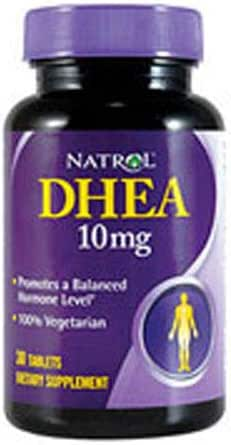 DHEA 10 mg - 30 ct (Pack of 4)