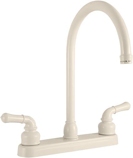 Dura Faucet Df Pk330hc Bq Rv J Spout Kitchen Sink Bisque Parchment Amazon Com