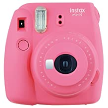 Fujifilm Instax Mini 9 Instant Camera - Flamingo Pink (Renewed)