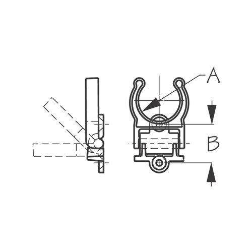 Sea-Dog 3//4 Folding Storage Clips