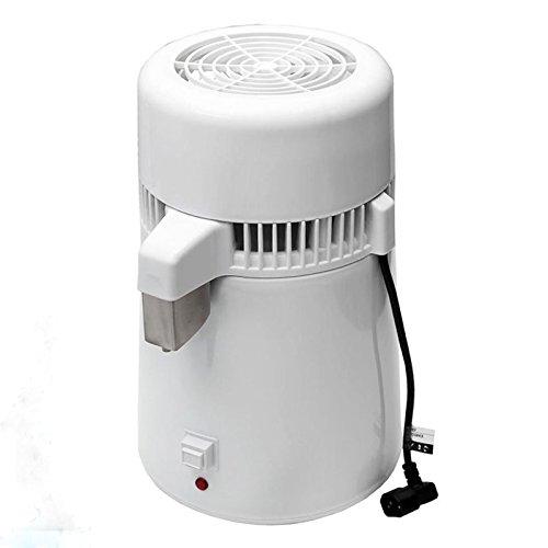 4L Pure Water Distiller Filter White 304 Stainless Steel Medical Dental Distilled Water Purifier Maker Distillation Machine 110V US Plug - Form A Complete Set of Professional Home Sterilizer