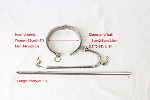 Spinning High Quality Stainless Steel Anal Hook Women Sex Anal Plug with Key and Lock Adult Sex Products,Female B
