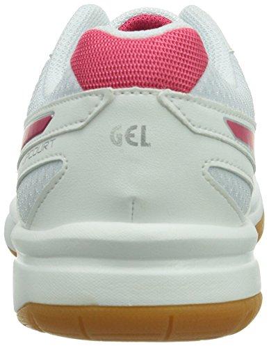 Gel silver Ginnastica Da Asics weiß raspberry Scarpe upcourt Bianco 0121 white Donna qtUnSa
