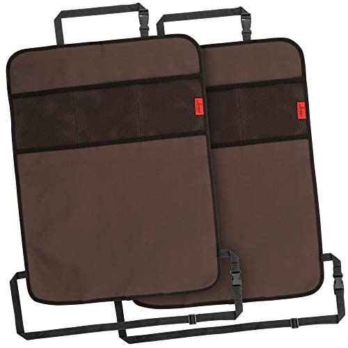 Cheapest Price! Heavy Duty Kick Mats Back Seat Protector (2 Pack) - The Sag Proof, Waterproof, Odor ...