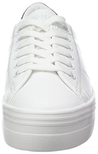 white Sneaker Plato Baskets No 01 Name black Femme patent Nappa Blanc wp7SRnBq