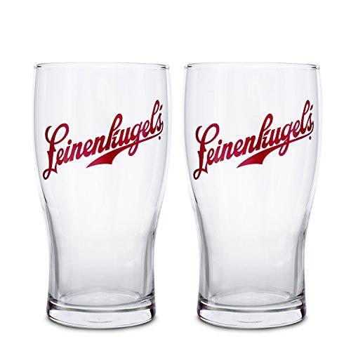Boelter Brands Leinenkugel Tulip Glass Set, 16-ounce, - Beer Leinenkugels
