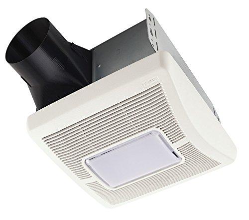 Broan A80L Invent Single-Speed Ventilation Fan with Incandescent Light, 80 CFM 1.0 Sones